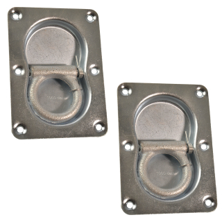 MS-Warenvertrieb 2 St/ück Klemmhalter Klemmhalterung f/ür St/ützr/äder Oder Abstellst/ütze mit Einem Durchmesser von 48mm
